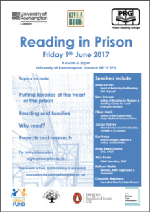 Reading in Prison Day 2017