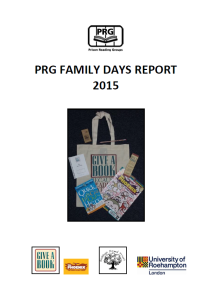 Family Days Report 2015