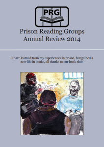 Prison Reading Groups Annual Review 2014