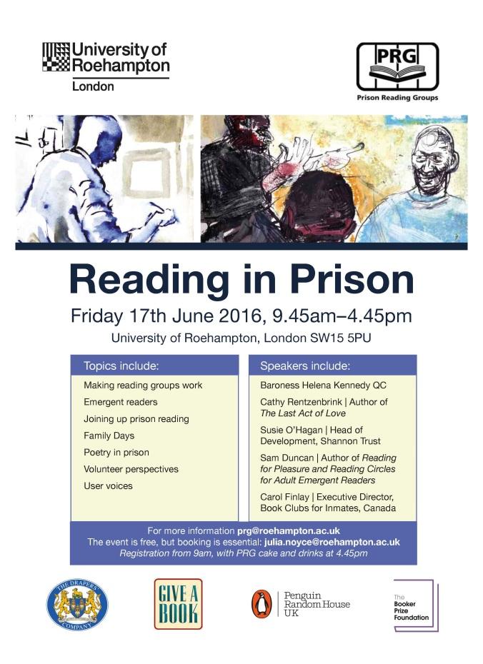 Reading in Prison 2016 poster
