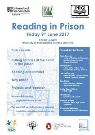 Reading in Prison 2017 poster