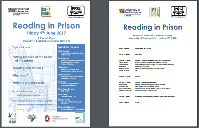 reading in prison poster thumbnail 2